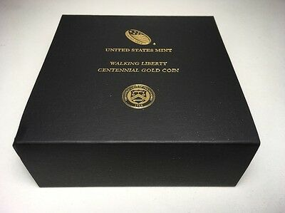 2016-W 1/2 oz Gold Walking Liberty Half Dollar Centennial (w/OGP)Box/COA