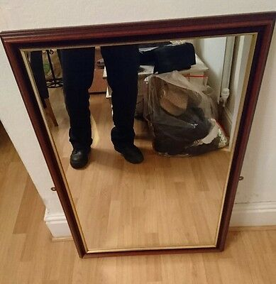 Large Mirror in solid wood frame
