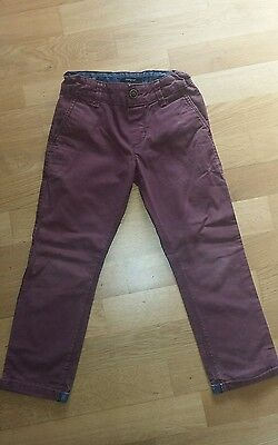 M&S slim fit trousers size 5 years (110cm )