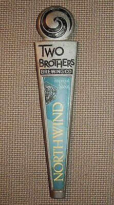 Two Brothers Northwind Imperial Stout Beer Tap Handle Metal