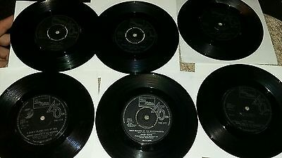 Batch of 10 northern soul /motown records  (see description )