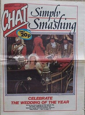 Chat Newspaper  No. 32 1986 - Simply Smashing  Celebrate the Wedding of the Year