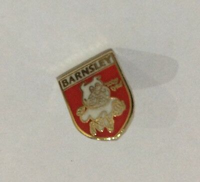 BARNSLEY Football Club Badge FC SUPPORTERS Enamel VERY SMALL Crest Emblem Pin