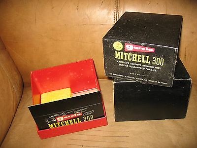 Vintage Garcia Mitchell 300 Spinning Reel box  Only No Reel #2