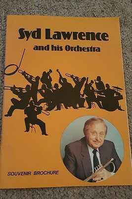 Syd Lawrence and his orchestra souvenir brochure