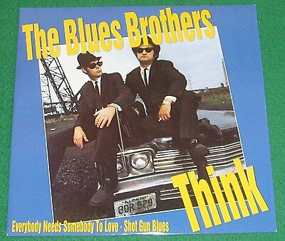 """The Blues Brothers  ( Aretha Franklin ) - Think - 12"""" Single Excellent Condition"""