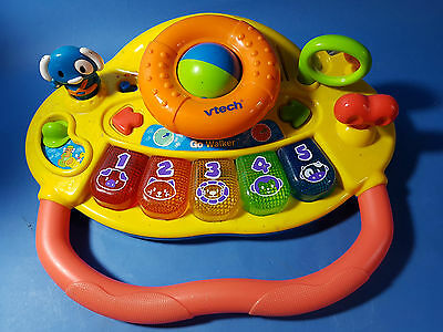 VTECH Grow & Go educational baby interactive walker 'TOP' with melodies & lights