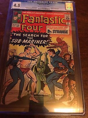 Fantastic Four 27 CGC 4.5 First Dr Strange Crossover