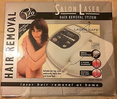 Rio Salon Laser Hair Removal System Hardly Used