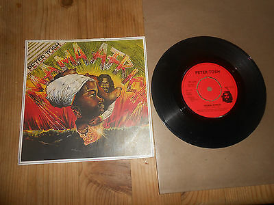 PETER TOSH/BOB MARLEY THE WAILERS/ MAMA AFRICA    7inch VINYL