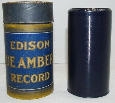 Edison Blue Amberol Cylinder #2108 Uncle Josh in a Photograph Gallery