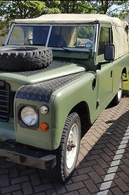 Land Rover 1968 Series 2 LWB Petrol Canvas New MOT ( no advisories ) Overdrive
