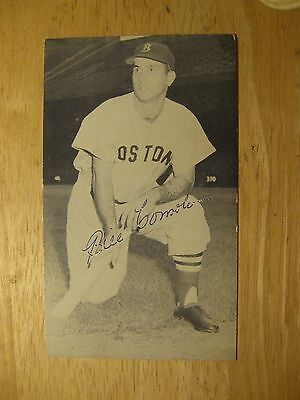 Boston Red Sox's Bill Consolo Signed J D McCarthy Postcard