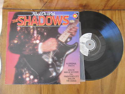 "Rock On With The Shadows Vinyl Lp12"" Record"