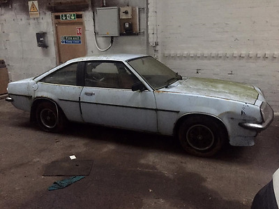 1977 Vauxhall Cavalier Coupe 2000, eggshell blue BARN FIND stored years