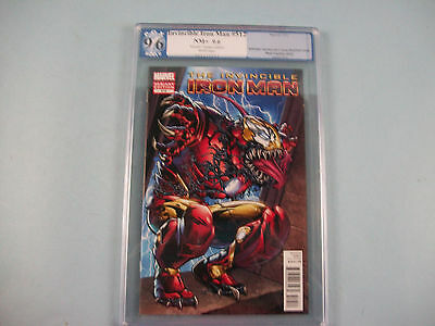 The Invincible Iron Man #512 PGX 9.6 NM+ (not CGC) VENOM Variant Edition