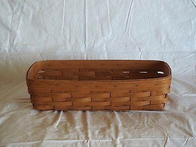 1992 Longaberger Small Serving Bread Basket With Liner