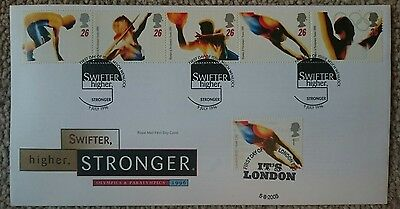 Olympics and Paralympics 1996 First Day Cover Stamps