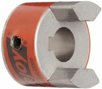 "Lovejoy 35686 Size L100 Standard Jaw Coupling Hub Sintered Iron Inch 0.875"" B..."