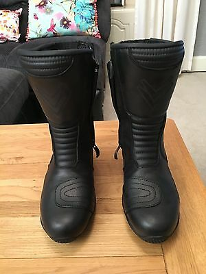 Frank Thomas Motorcycle Boots Size 4