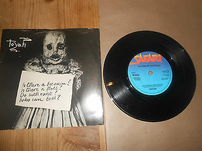 TOYAH   VICTIMS OF THE RIDDLE   PARTS 1+2     7 inch Vinyl