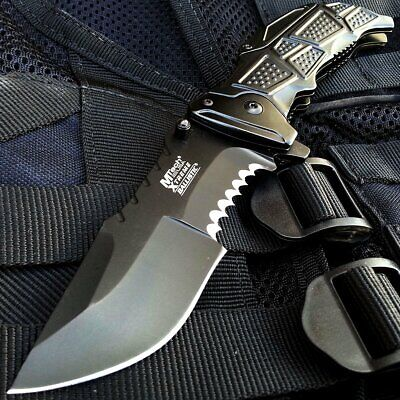 Counter-Strike CSGO Pocket Knife Spring Assisted Huntsman Call of Duty Ghosts !!