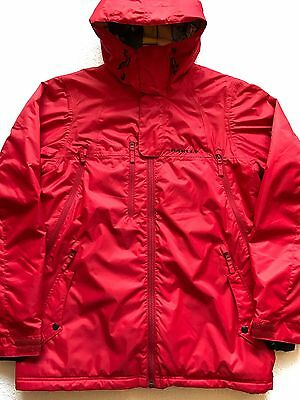 Oakley Mens Insulated Snowboard Ski Jacket Winter Snow Coat Large Red
