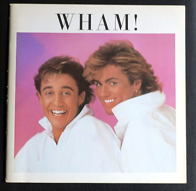 Wham!,Original japanese tour book,George Michael,36 pages,1985