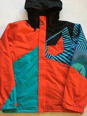 Volcom Versed Mens Snowboard Ski Jacket XL Red Winter Snow Coat