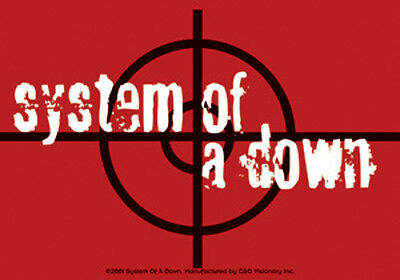 System Of A Down - Target Logo - Sticker