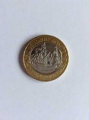 The Mary Rose 2011 £2 TWO Pound Coin RARE