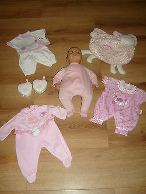 Baby Annabell Doll Bundle Includes Clothes Bag Baby Monitors Etc