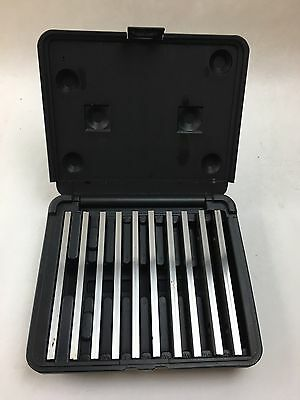 MACHINISTS PARALLEL Set Precision Machinist Tools, 10 Pairs (20 total)