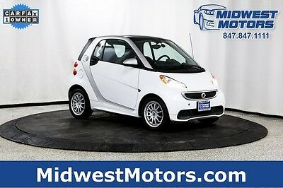 2013 Smart Fortwo Electric Drive Coupe 2-Door 2013 Smart ForTwo Electric drive smart car 1 Owner Clean Carfax Gas Saver!