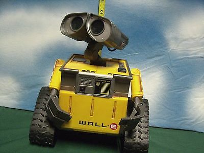 wall -E Robot used no way to test parts or repair