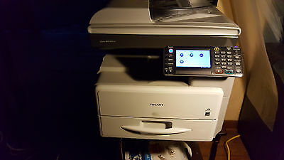 Ricoh Aficio MP 301SPF Multifunction Copier Printer Scanner