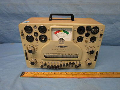 Excellent Heathkit It-17 Vacuum Tube Tester  - Tests From Early To Modern Tubes