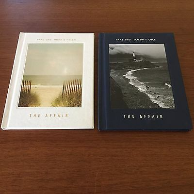 The Affair Showtime Network Rare First Season Press Kit - 2 Special Photo Books