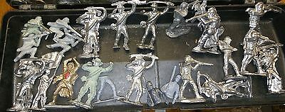 Lot of 53 Toy Lead Soldiers