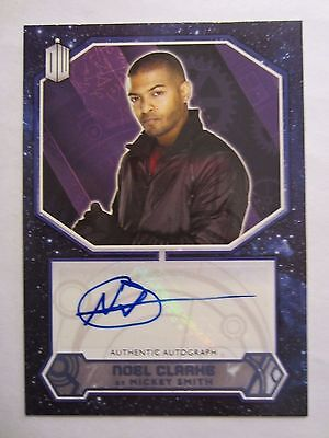 2015 Topps Doctor Who Noel Clarke as Mickey Smith Auto Autograph 50/50