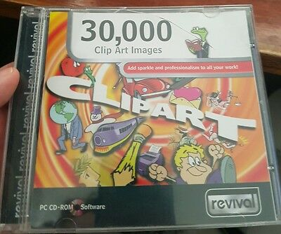 30,000 Clipart Images PC CD ROM - FREE POST