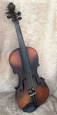 """Antique Violin 19th C. 4/4 full size VERY OLD 23-1/2"""" - VERY OLD"""