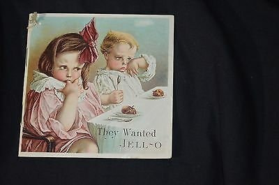 Vintage 1919 Jello They Wanted Jell-O Recipe Booklet Rose O'Neill Illustrations