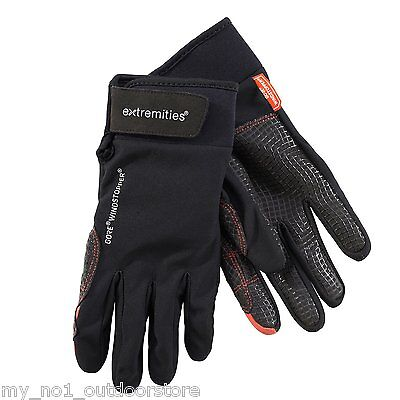 Extremities Tor Gore Windstopper Hiking/Climbing Glove - Black