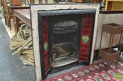 Victorian Fireplace with Original tiles