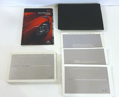 2007 Infiniti G35 Coupe Owners Manual  Warranty Service and Maintenance