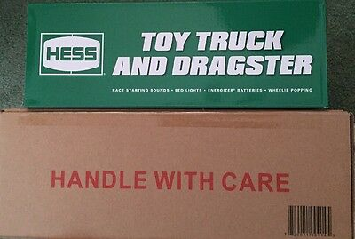 2016 Hess Toy Truck & Dragster Limited Edition In Both Factory Sealed Boxes