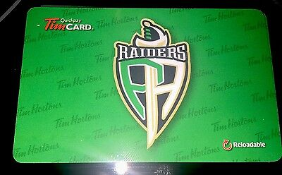 2016 Tim Hortons Gift Card Prince Albert Raiders 2016 WHL