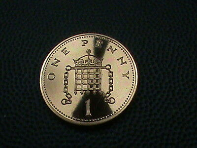BRITAIN  1 penny   1988   PROOF