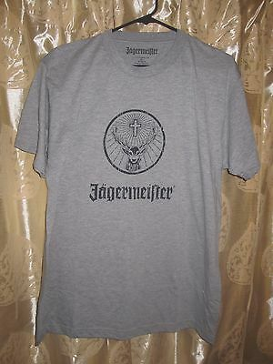 NEW Gray JAGER Jagermeister Merch TSHIRT Mens Large